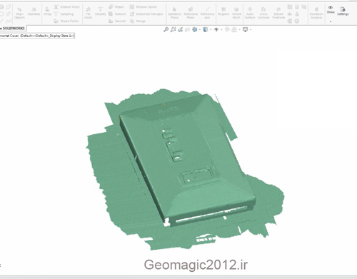 Geomagic for SOLIDWORKS software 2017 Educational film