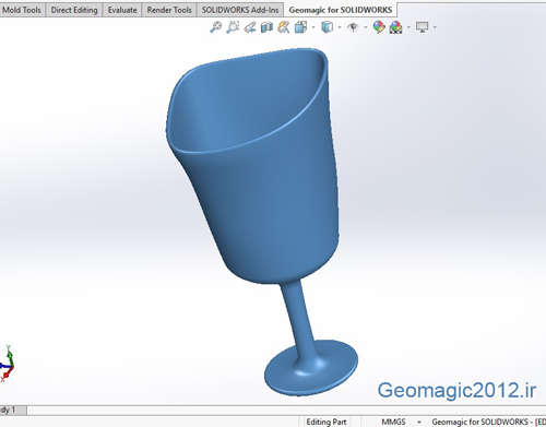 فیلم آموزش Geomagic SolidWorks 2017